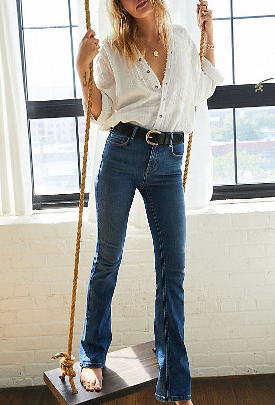 Boot cut or skinny trousers